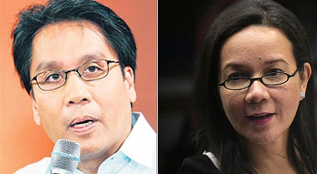 Interior Secretary Mar Roxas, the prospective presidential candidate of the ruling Liberal Party, has asked Sen. Grace Poe to be his vice presidential running mate. FILE PHOTOS