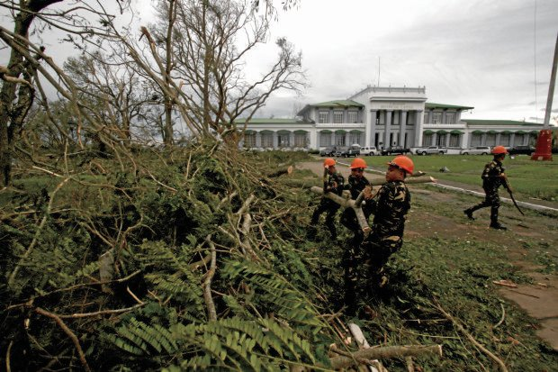 AFTERMATH SUPERTYPHOON LAWIN / OCTOBER 20, 2016Fallen trees due to strong winds of Supertyphoon Lawin Provincial Capital, Cagayan.INQUIRER PHOTO / RICHARD A. REYES