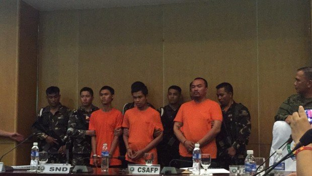 afp arrest davao suspects bombing