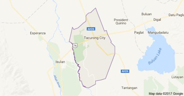 Tacurong City, Sultan Kudarat (Google maps)