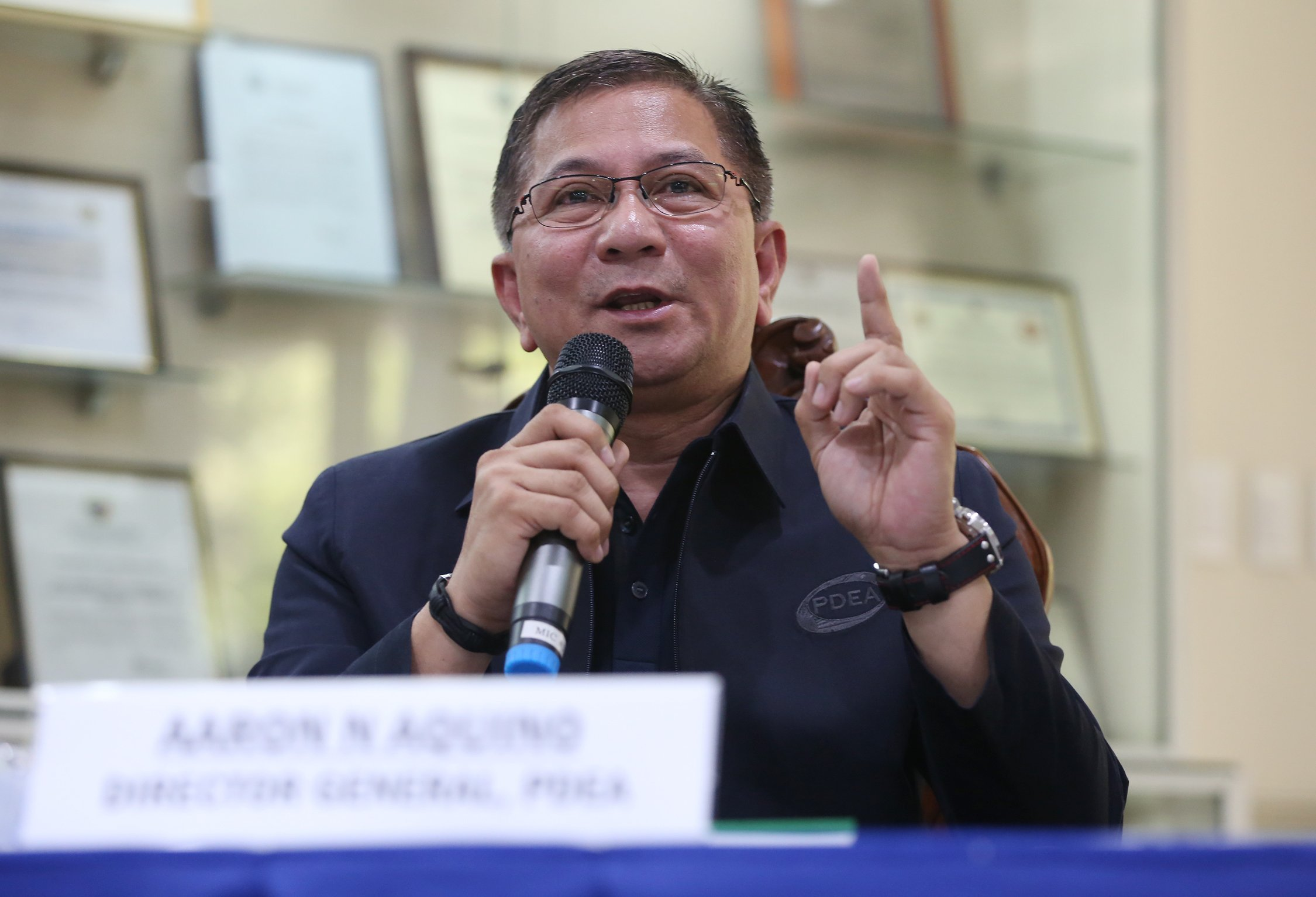 PDEA chief says no to release of 'narco list' before May polls