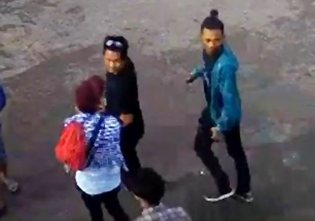 Suspects in Jolo blasts via CCTV