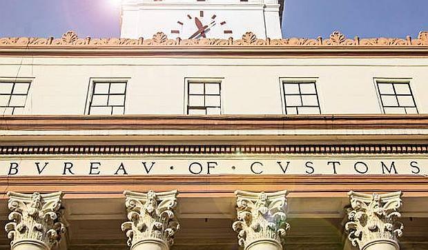 Bureau of Customs facade