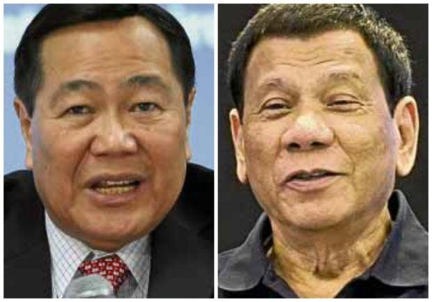 Lawyer's group offers to host debate between Duterte, Carpio
