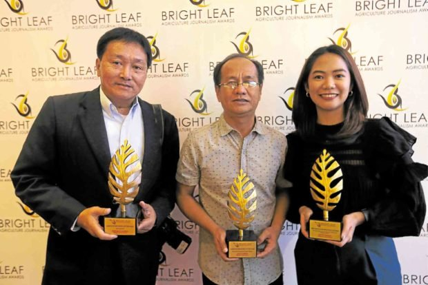 Inquirer stories, photo top agri journalism awards