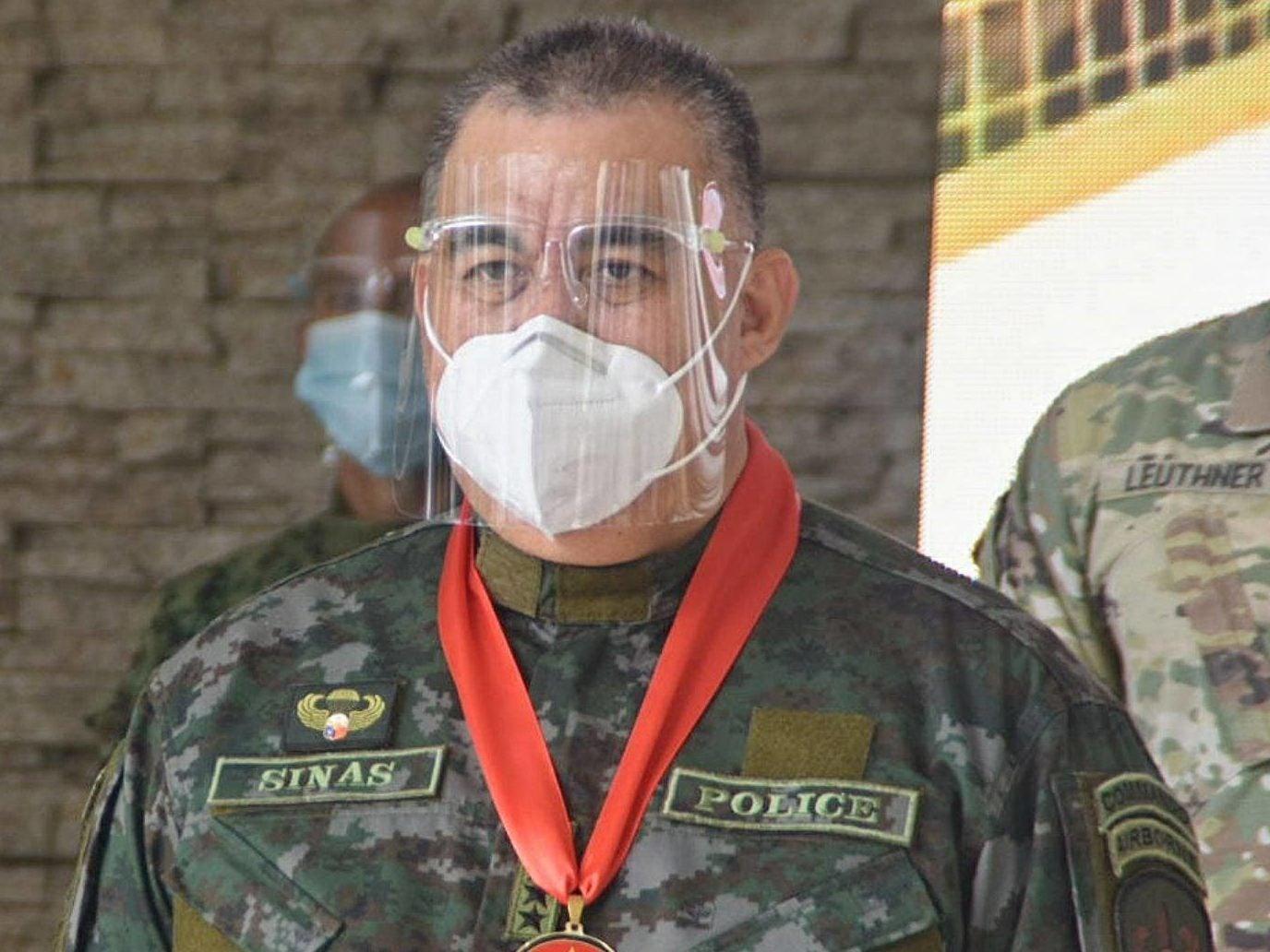 PNP chief Debold SInas