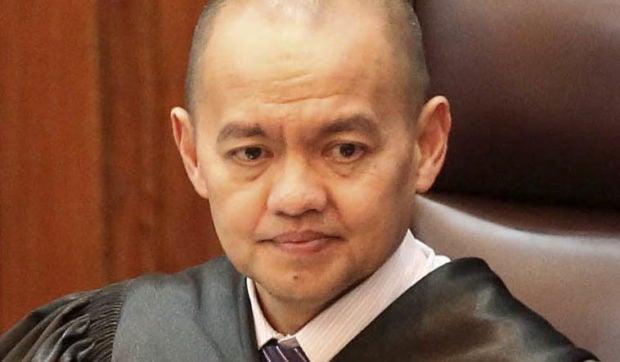 Supreme Court Associate Justice Marvic Leonen