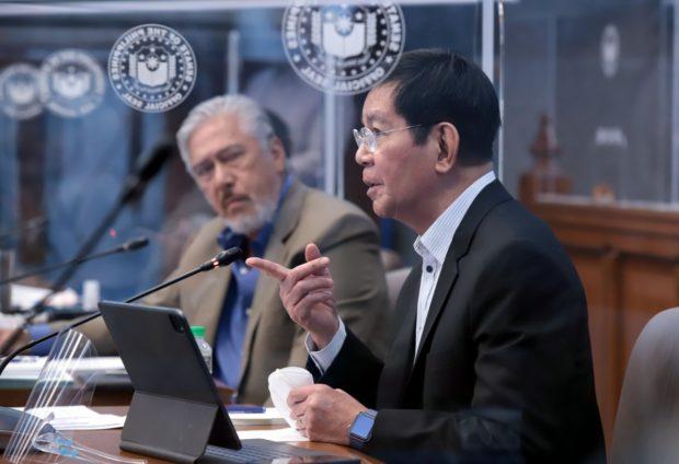 El presidente del Senado, Tito Sotto, no imaginó entretenimiento cuando él y el senador Panfilo Lacson emprendieron la campaña para las elecciones de 2022.
