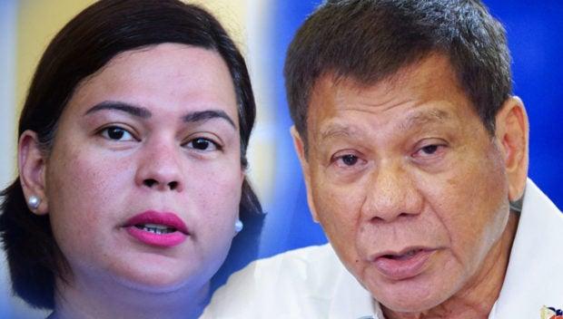 Sara not running for president after Duterte takes VP