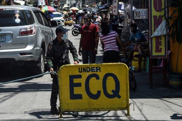 quarantine now just ECQ GCQ