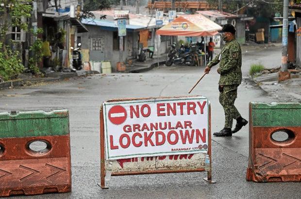 PNP ready to enforce granular lockdowns in NCR