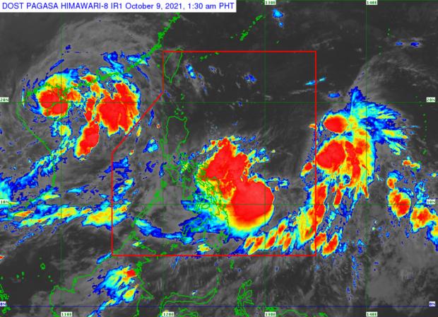 'Maring' intensifies into tropical storm; TD Nando enters PAR – Pagasa