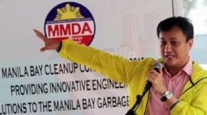 Metropolitan Manila Development Authority Chairman Attorney Francis Tolentino INQUIRER FILE PHOTO