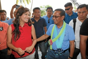 Binay visits 'Marcos country,' pays courtesy call on Imee